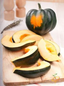 'Table Queen' Heirloom Acorn Squash