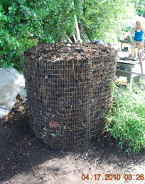 Compost Pile After Third Turning