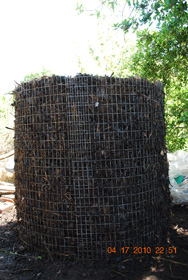 Compost Pile After Fourth Turning