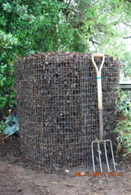Compost Pile After Fifth Turning