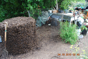 Compost Pile Before Fifth Turning