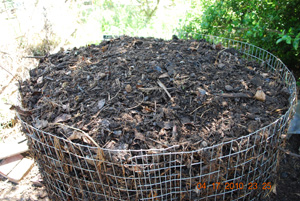 Compost Pile Fifth Turning