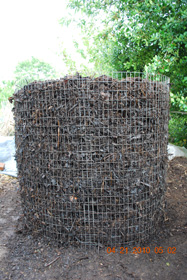 Compost Pile After Sixth Turning