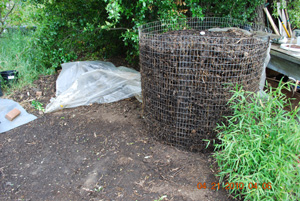 Compost Pile Before Sixth Turning