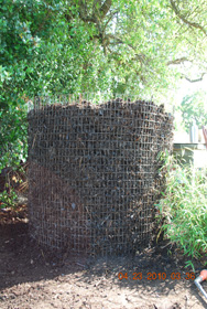 Compost Pile After Seventh Turning