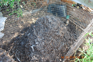 Compost Pile Seventh Turning