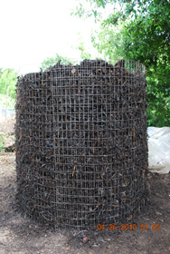 Compost Pile After Turning