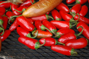 Smoking Ripe Jalapeno Peppers to Make Chipotle Chiles