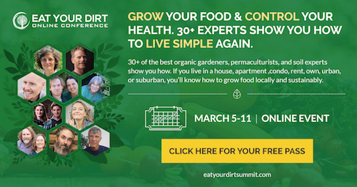 Get Your Free Pass to the Eat Your Dirt Summit