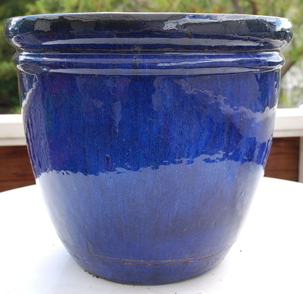Choosing containers for container gardening for 6 ceramic flower pots