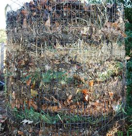 Lasagna Composting