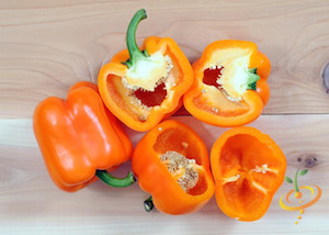 Pepper Varieties-'Horizon Orange'