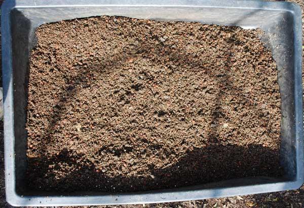Basic Potting Soil Recipe  Mixed