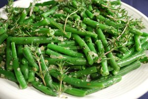 Green Beans with Summer Savory 1